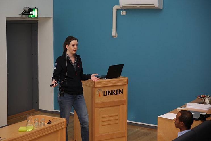 Silje Ljosland Bakke, information architect at Nasjonal IKT.