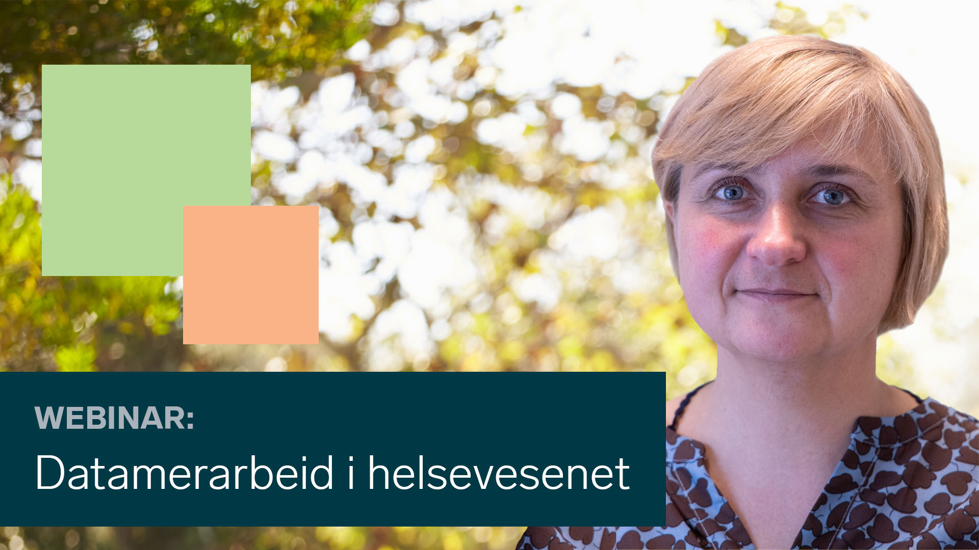 Camilla Bjørnstad tar opp utfordringer med dataintegrasjoner i helsevesenet