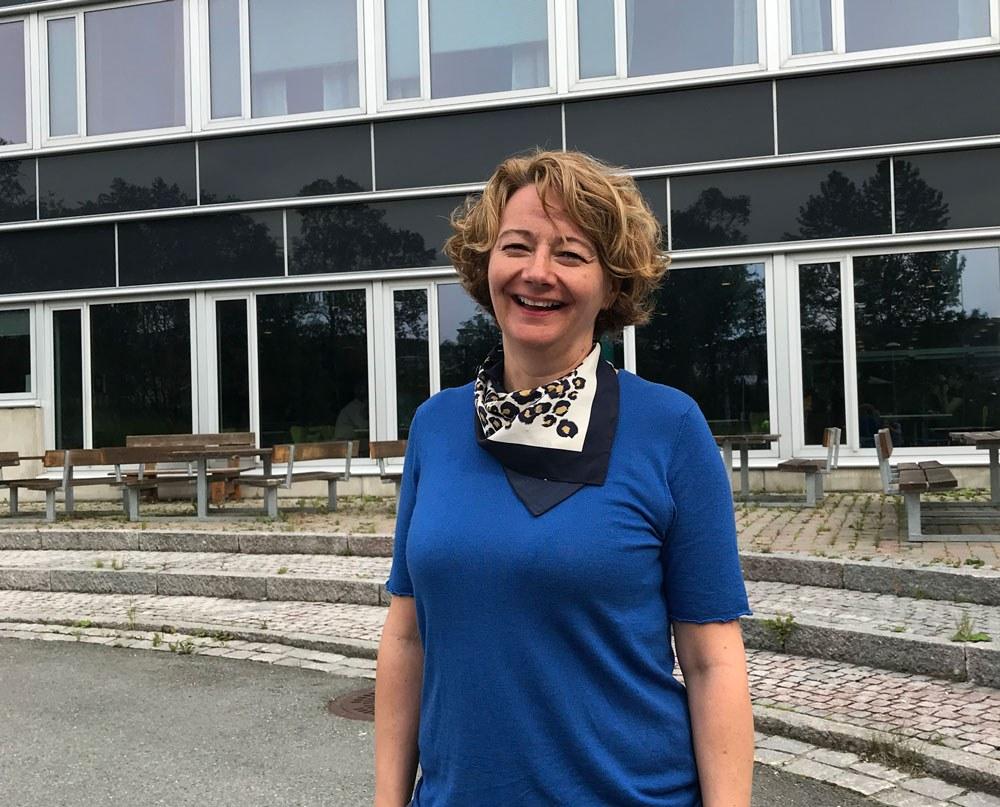 Anne Torill Nordsletta, avdelingsleder, Helsedataanalyse, Nasjonalt senter for e-helseforskning. Foto: Lene Lundberg