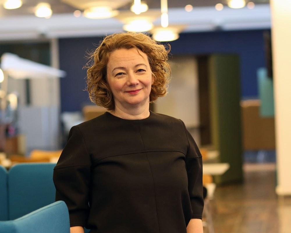 Avdelingsleder Anne Torill Nordsletta deltar i en ekspertgruppe som skal se på deling av data. Foto: Lene Lundberg