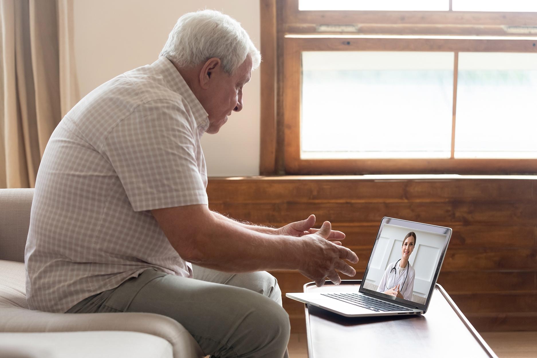 Er du innbygger og vil benytte videokonsultasjon, finner du mer informasjon på helsenorge.no. Foto: www.colourbox.no
