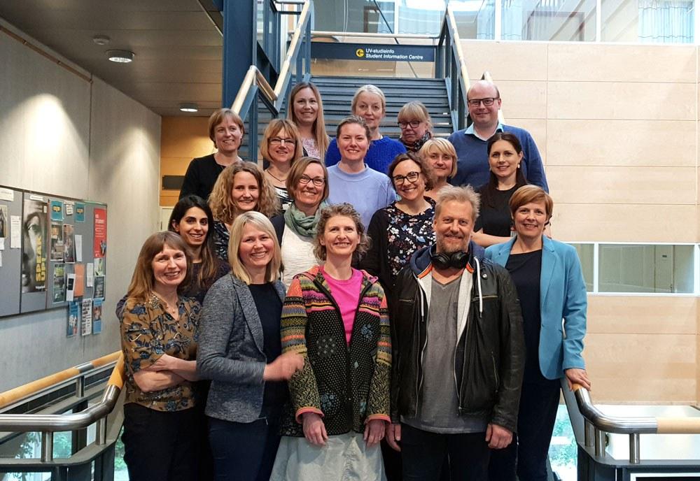 Bilde fra nettverksmøtet i Oslo den 6. mai.