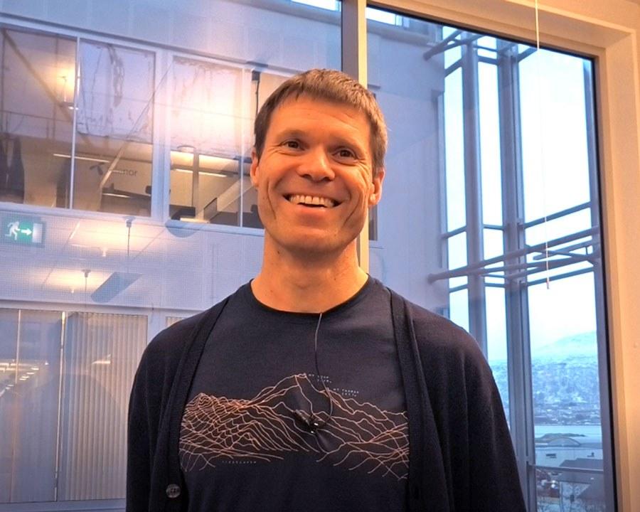 Eirik Årsand. Photo: Lene Lundberg