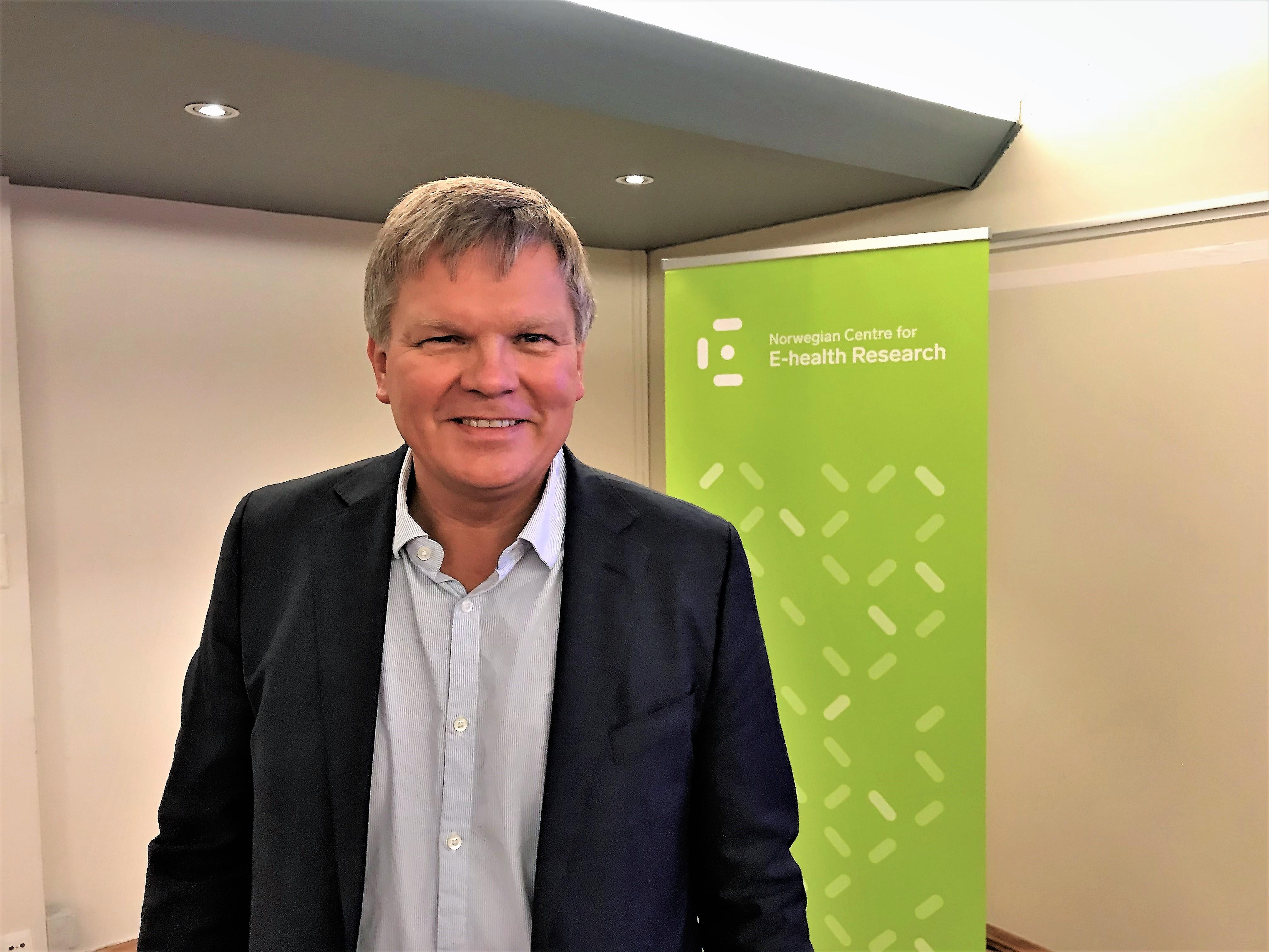 Gunnar Hartvigsen, professor. Foto: Nasjonalt senter for e-helseforskning