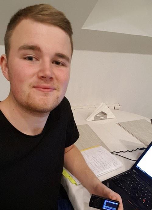 Hans-Henrik Hamrebø håper deling av helsedata kan kutte ned på legebesøk. (Foto: Privat)
