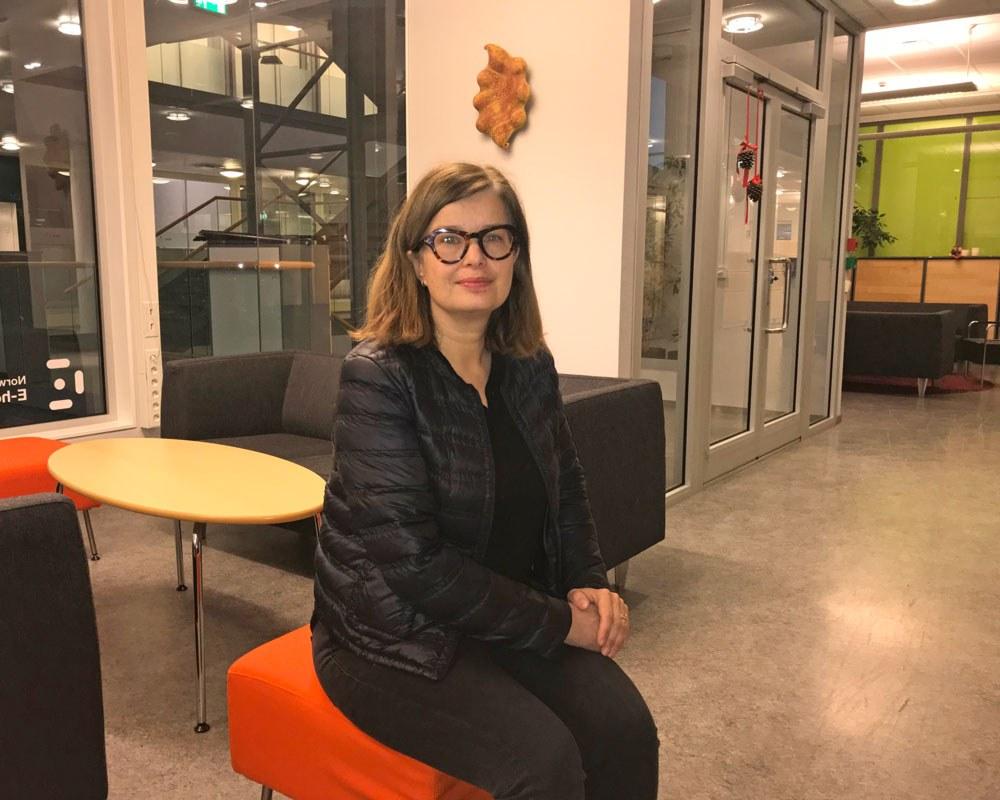 Line Linstad, Nasjonalt senter for e-helseforskning. Foto: Lene Lundberg