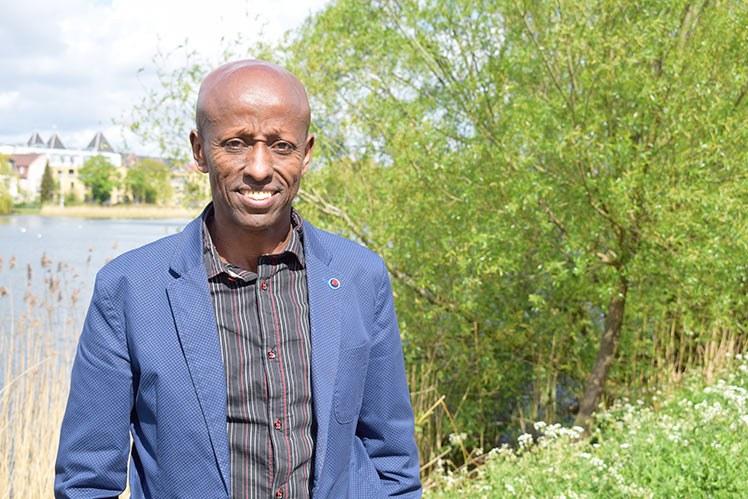 Mahad Mussa Huniche er direktør for data og utviklingsstøtte i danske Region Sjælland. Foto: Oddny J. Johnsen.