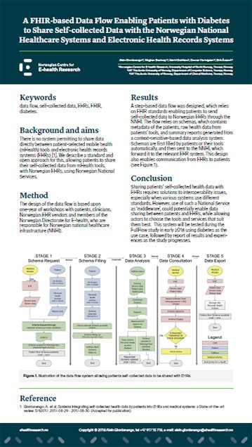 Poster 2018 02 16 9 ATTD FHIR based Data Flow 359w