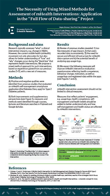 Poster 2018 04 16 9 ATTD Mixed Methods 359w