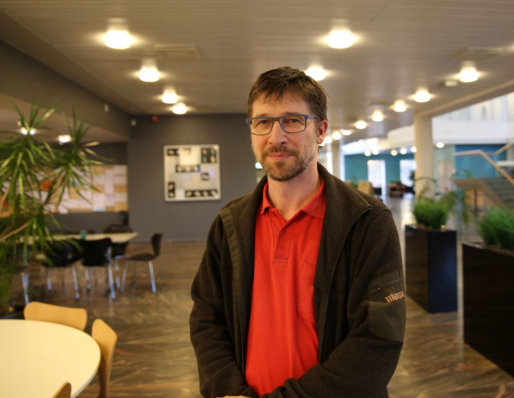 Thomas Schopf, Norwegian Centre for E-health Research. Photo: Lene Lundberg