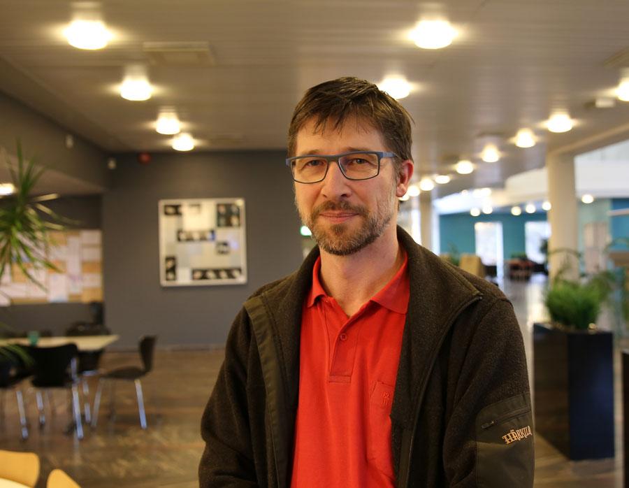 Thomas Schopf, Nasjonalt senter for e-helseforskning. Foto: Lene Lundberg