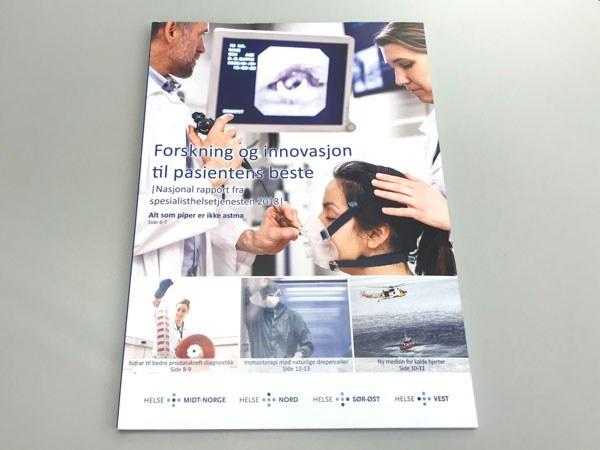 Rapporten Forskning og innovasjon til pasientens beste, er den sjette i rekken. Foto: Lene Lundberg
