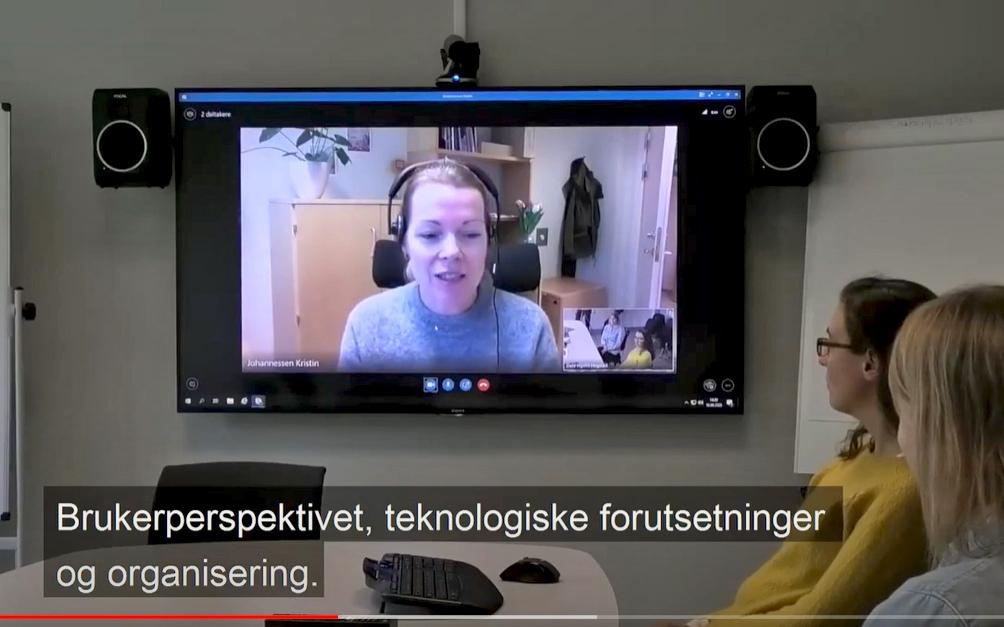 Videobaserte og tekstbaserte teknologier er nyttige til kommunikasjon og samarbeid.